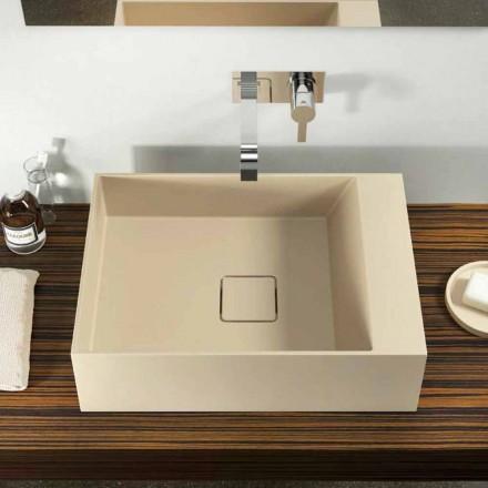 Design Aufsatzwaschbecken in Italien hergestellt, Lavis