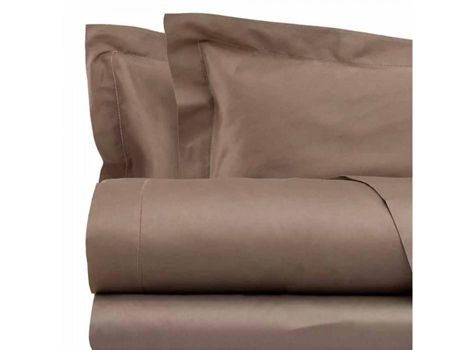 Baumwollsatinplatten für Doppelbett Solid Color - Freesia
