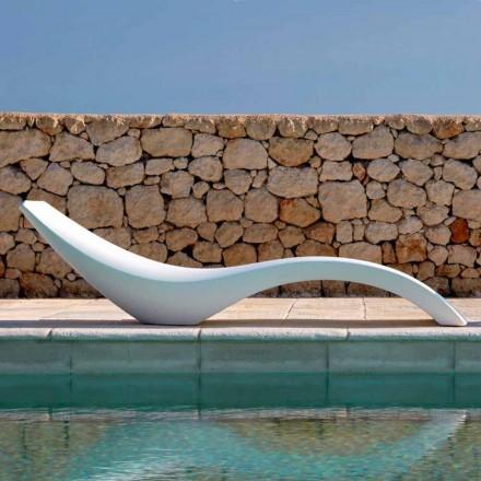 Modernes Design Chaiselongue aus farbigem Polyethylen - Cloe von Myyour