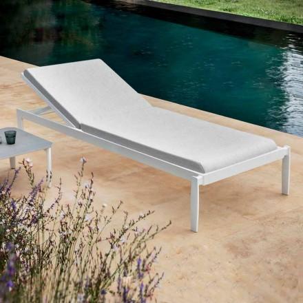 Garten Chaiselongue mit oder ohne hochwertige Matratze - Filomenalet
