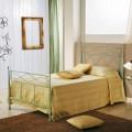 Bett 120x190 aus Schmiedeeisen handgefertigt Gabriella
