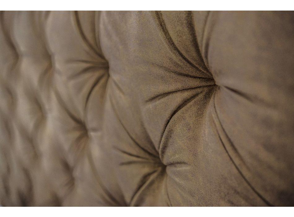 Bettcontainer doppelt gepolsterter Stoff oder Kunstleder Made in Italy - Euro