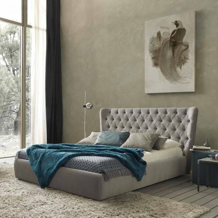 Doppelbett mit Bettcontainer, zeitgemäßes Design Selene Bolzan