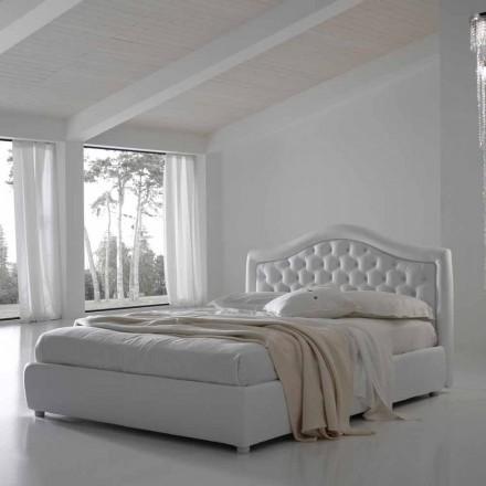 Doppelbett mit Container, klassisches Design Capri von Bolzan