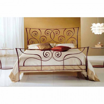 Doppelbett aus Schmiedeeisen Ares