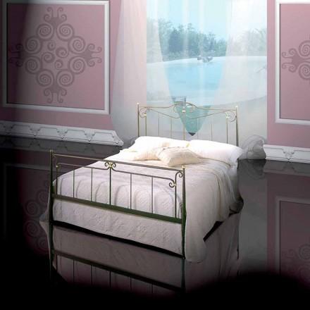Doppelbett aus Schmiedeeisen Auriga