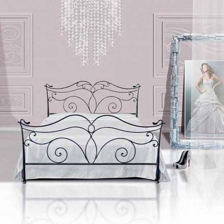Doppelbett aus Schmiedeeisen Febo