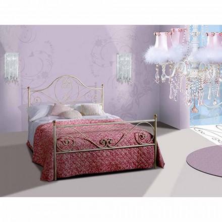 Doppelbett aus Schmiedeeisen Gea
