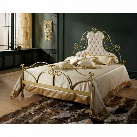 Doppelbett aus Schmiedeeisen Paride