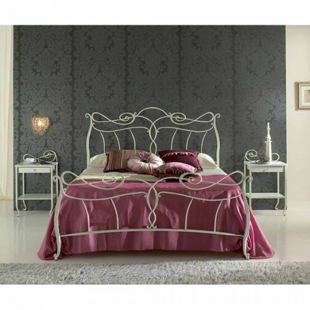 Doppelbett aus Schmiedeeisen Venere