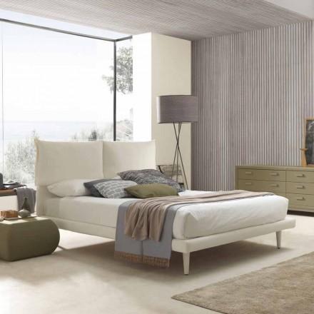 Modernes Doppelbett, mit dünnem Untergestell und ohne Box, Iorca von Bolzan