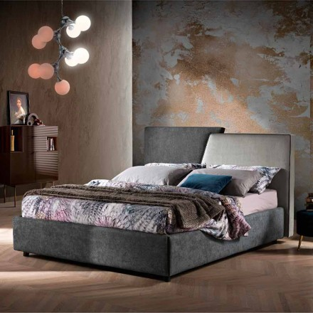 Modernes, gepolstertes oder glattes Doppelbett-Design - Aftamo