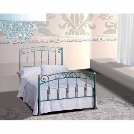Jugend Queen Size Bett aus Schmiedeeisen Diamante