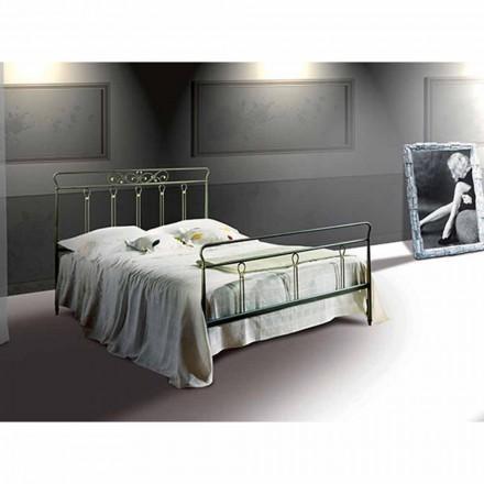 Jugend Queen Size Bett aus Schmiedeeisen Pan