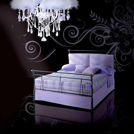 Jugend Queen Size Bett aus Schmiedeeisen Perseo