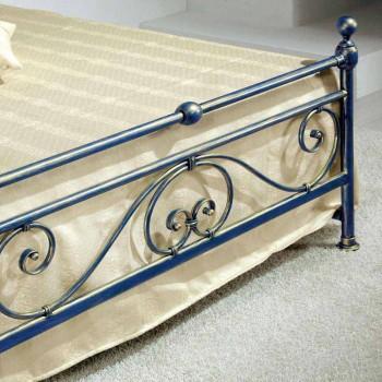 Queen-Size-Bett aus Schmiedeeisen zerquetscht Gloria Entwurf