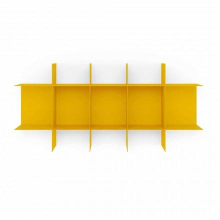 Modulares Design Wand Bücherregal aus hochwertigem Metall - Roger