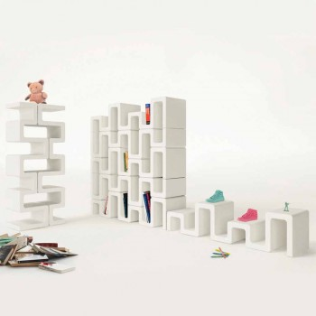 Bibliothek Design Moderne Sisma Made in Italy