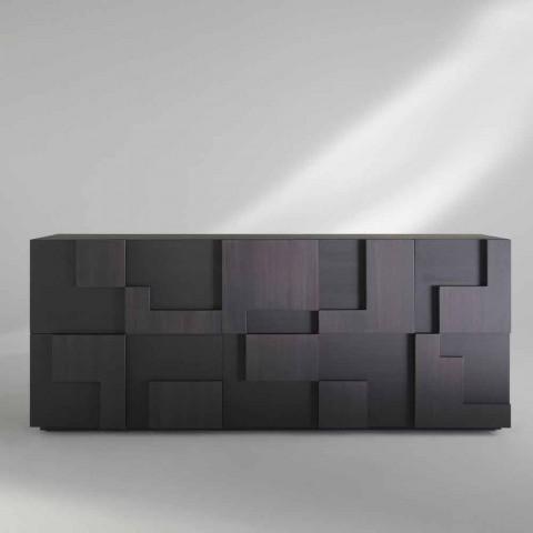 Wohnzimmer Sideboard aus hochwertigen Thermoholz in Lärche Azaela Design