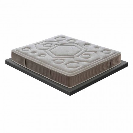 Luxus Doppelmatratze aus Memory Foam H 25 cm Made in Italy  - Arancia