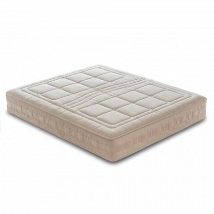 Queen Size Matratze aus Memory Foam und 1600 Federkern - Grecia