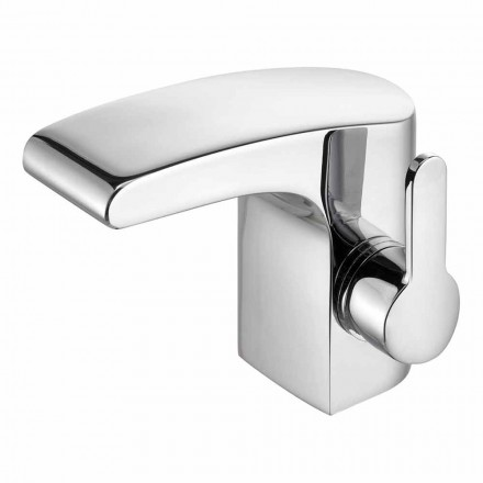 Luxus-Einhebel-Badezimmer-Waschbecken Chrom-Finish - Gonzo