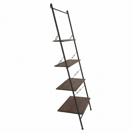 Modernes Design Industriestil Holz- und Metallschrank - Denes
