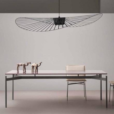 Design Tisch aus lackiertem MDF My Home Dub aus Italien
