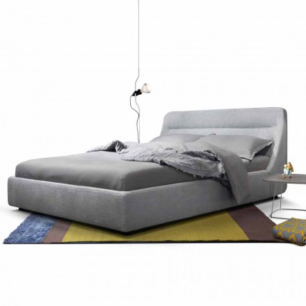 Design gepolstertes Doppelbett My Home Sleepway made in Italy