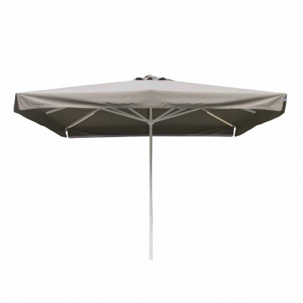Outdoor-Stoffschirm mit Metallstruktur Made in Italy - Solero
