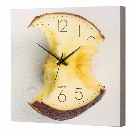 Design Uhr Wand 40x40 Made in Italy Ryan