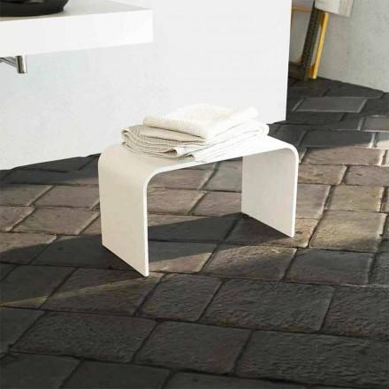Sitzbank für Bad mit modernem Design in Italien hergestellt Recanati