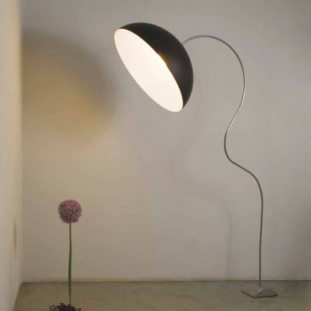 Moderne Stehlampe In-es.artdesign Halbmondfarbener Nebel