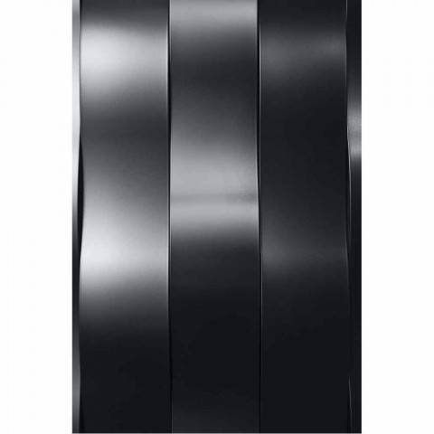 5 Bar Design Stahl elektrische Strahlungsplatte bis 1000 Watt - Fluss