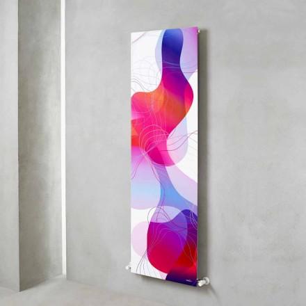 Wandmontierte hydraulische Strahlungsplatte aus Stahl mit Dekoration 839 Watt - Kelvin