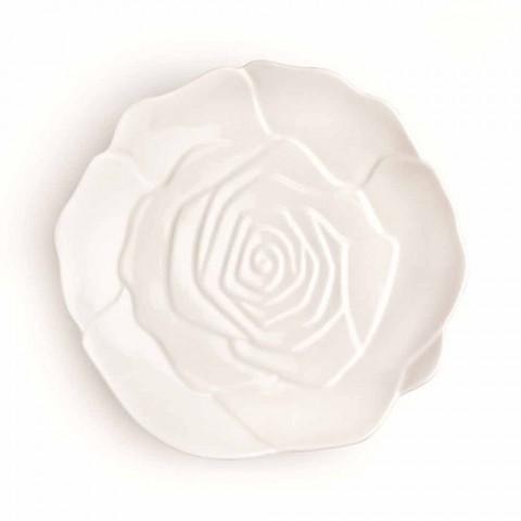 12 Stück Porzellan Elegante handdekorierte Gunstplatte - Rafiki