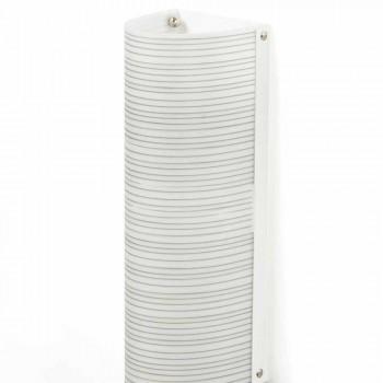Deckenleuchte 2 Lichter mit modernem Design Garn Dekoration, L.18xD.16cm, Debby