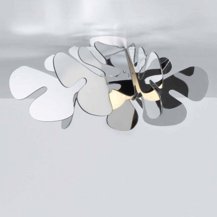 Moderne Methacrylat Deckenleuchte, L.53x T.53 cm, Debora