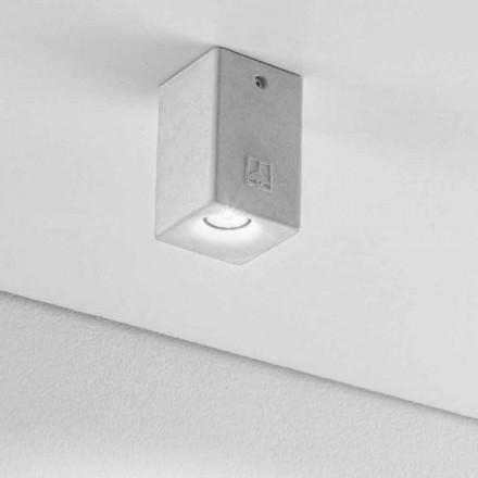 Deckenlampe eckig für den Außenraum Nadir 2 Aldo Bernardi
