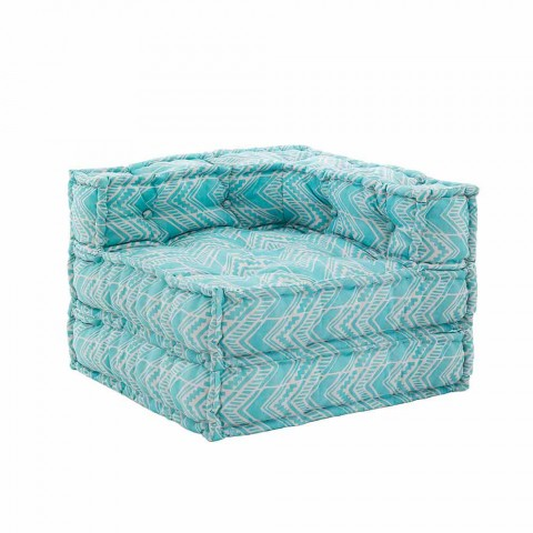 Chaiselongue-Sessel für drinnen oder draußen aus wasserabweisendem Stoff - Shamo