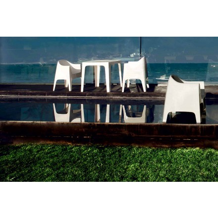 Outdoor-Sessel in modernem Design aus Polypropylen, Solid von Vondom