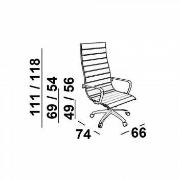 Executive Lederstuhl Büro oder Leichter Stoff