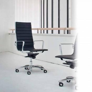 Chefsessel von Design aus Leder oder Stoff Light Luxy