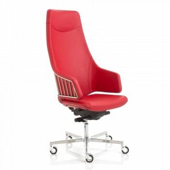 Executive-Bürostuhl Modell von italienischen Luxy, made in Italy
