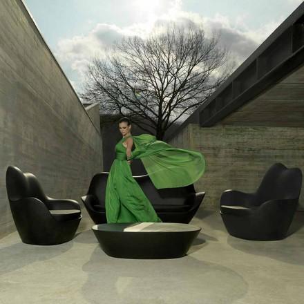 Moderner Gartensessel aus Polyethylen, Sabinas von Vondom
