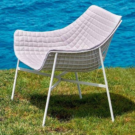 Moderner Gartenlounge aus Stahl Varaschin Summer Set
