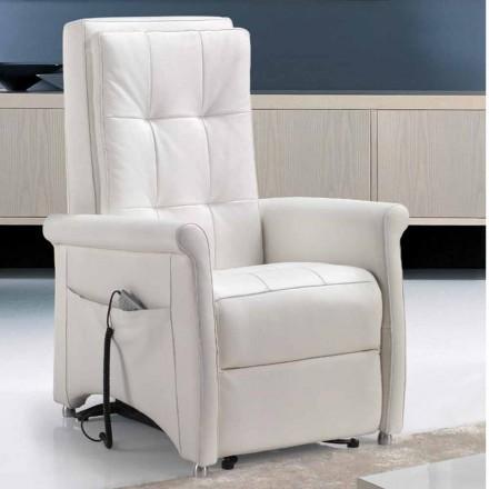 Sessel mit 1 Motor und Aufstehhilfe in Italien hergestellt Via Roma