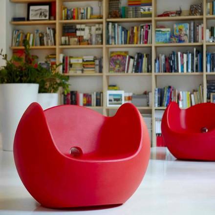 Design Garten / Indoor Schaukelstuhl Slide Blos, made in Italy