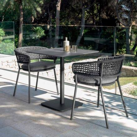 Gartensessel aus Alluminium Moon Alu Talenti, modernes Design
