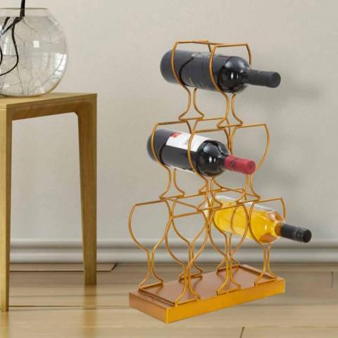 Modernes Design 6-Sitzer Eisenflaschenhalter - Brody